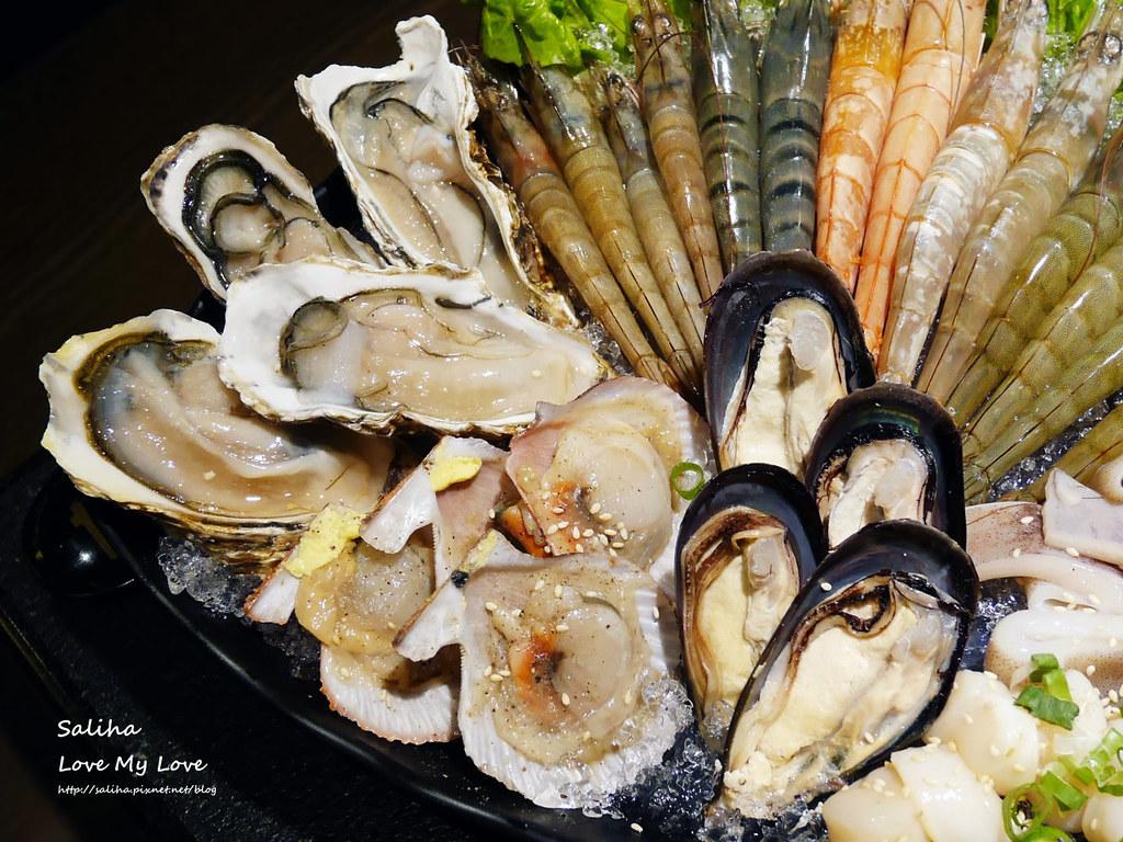 台北東區瓦崎敦南店燒烤火鍋生猛海鮮牛排生蠔吃到飽  (2)