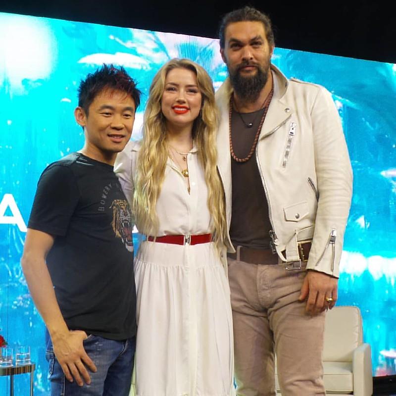 Media Junket Filem Aquaman