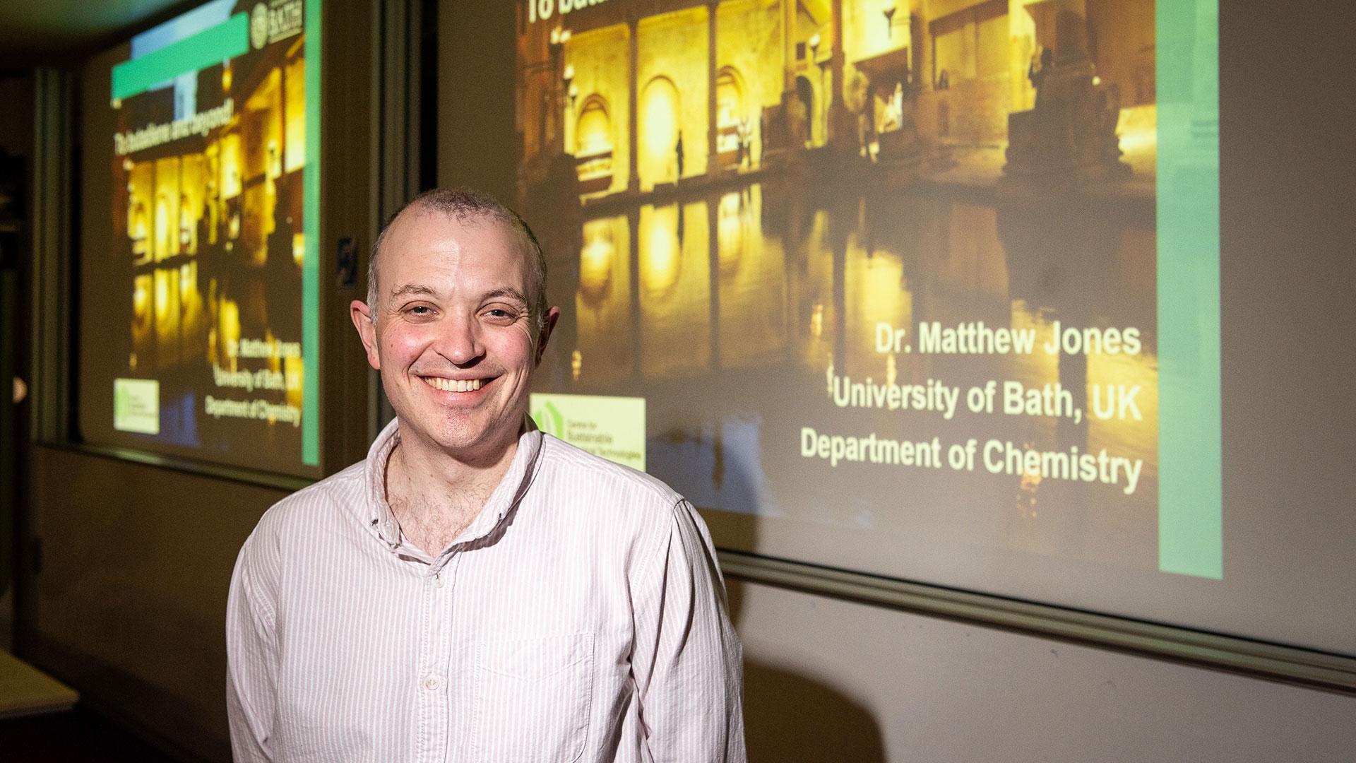 Professor Matthew Jones