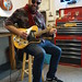 The amazing Mark Christian enjoying this Tele with a Bigsby for some Jeff Beck phrases,