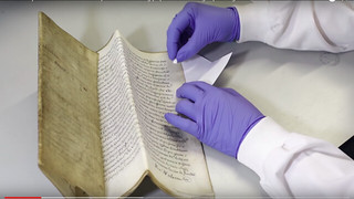 Sampling DNA from old books