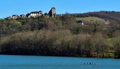 Lac du Lussac, Correze, France