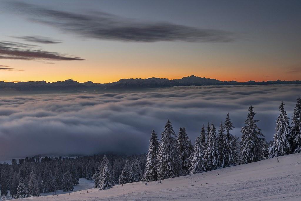 Mont Blanc - Le Chasseron
