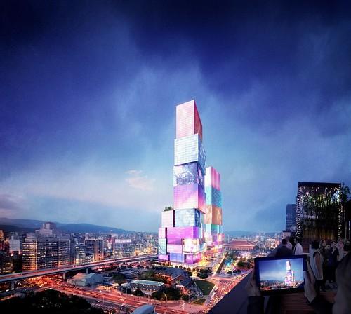 台北車站雙子星 Taipei City One