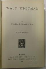 Penn Libraries 811W YCla Whitman copy 3: Title page
