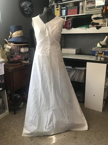Wedding Dress Prep
