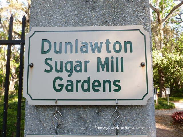 Dunlawton Sugar Mill Gardens at FromMyCarolinaHome