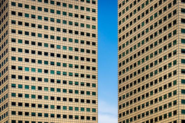 Suntec City towers, Singapore