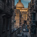 In the streets of Valletta