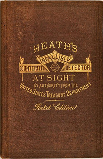 1870 Third Edition Heath's Pocket Detector cover
