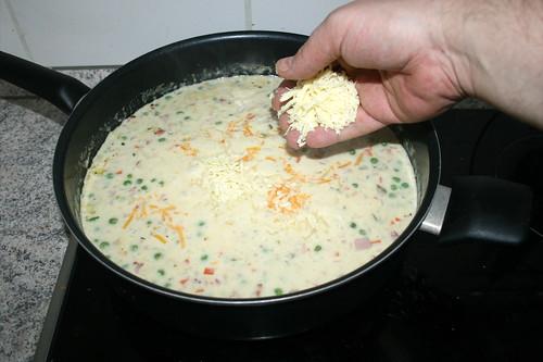 28 - Käse dazu geben / Add cheese