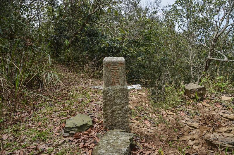 大原山三等三角點(# 7142 Elev. 1114 m) 1