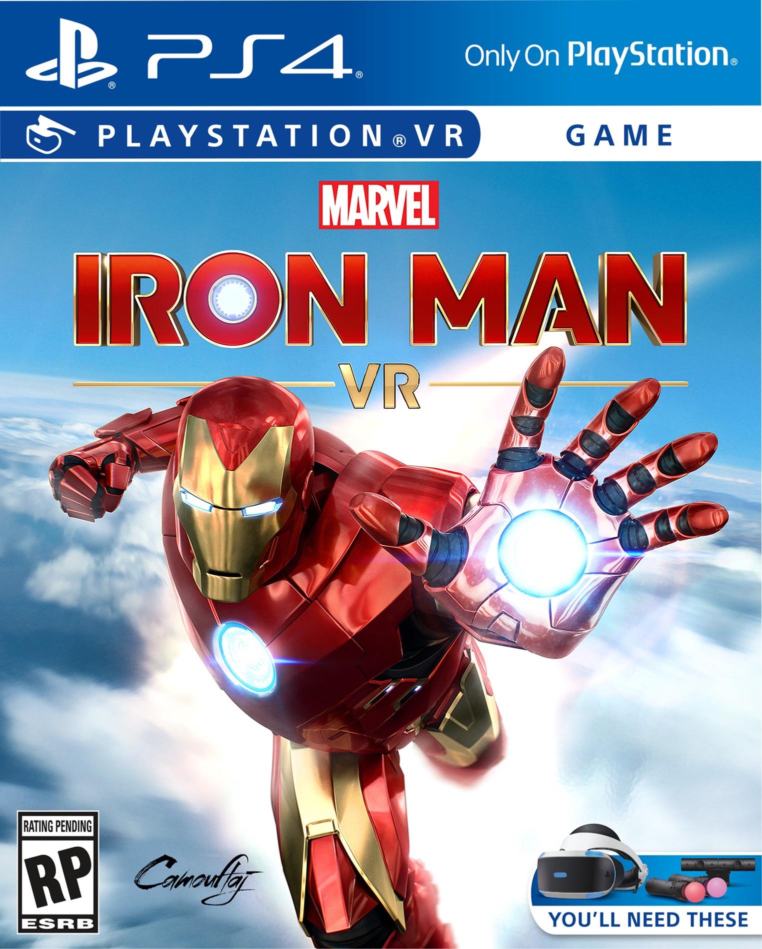 Marvel's Iron Man VR Arrives 2019 on PlayStation VR
