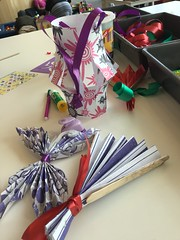 Paper craft family makerspace