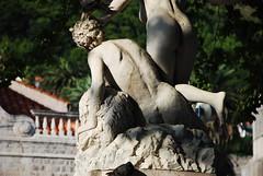 Croacia. Dubrovnik. Fuente del pastor, la muchacha y el fauno (23)