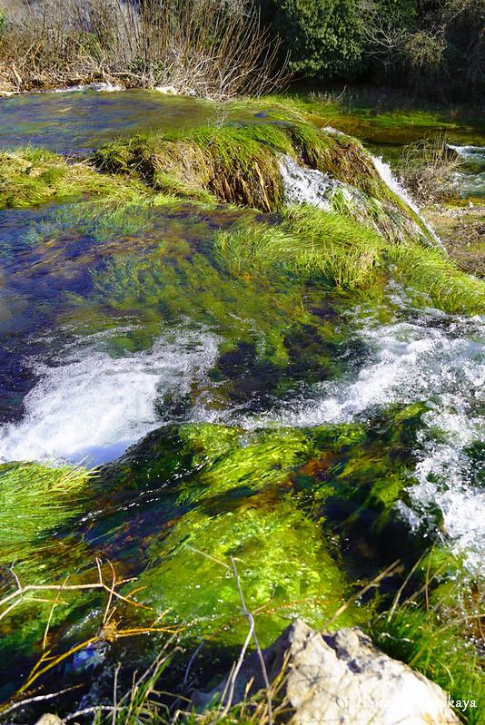 Водопад Провалие, вид сверху