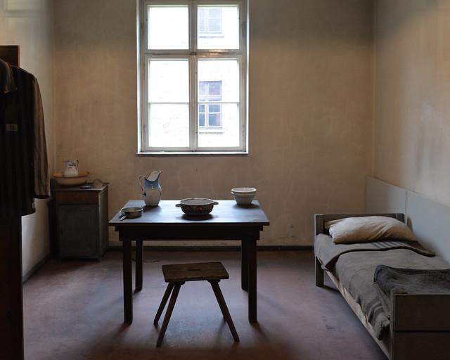 Habitación de uno de los kapos de Auschwitz