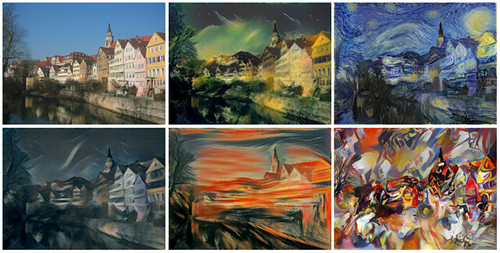 Style Transfer GAN examples