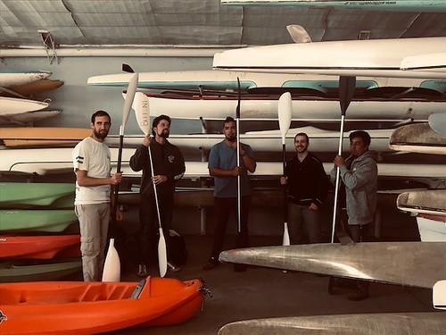 08-04-19 Guardas ambientales de la zona atlántica se capacitan en técnicas de remo y seguridad náutica