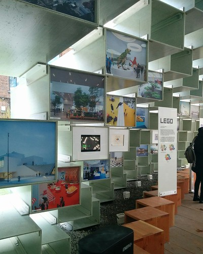From Lego House #toronto #unzippedtoronto #serpentinepavilion2016 #bjarkeingels #architecture #lego #legohouse #billund #parks #latergram
