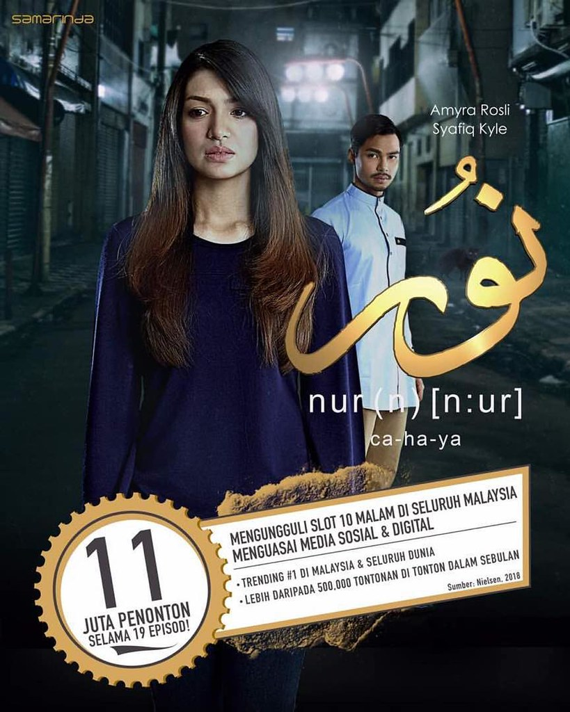 Senarai Top 5 Drama Melayu TV3 Tahun 2018