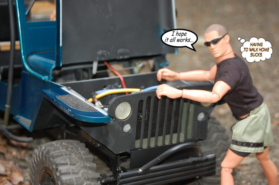 Building an RC sixth scale Jeep 45954818634_c83dcc6204_o