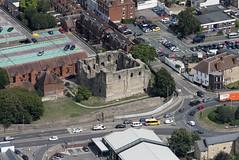 Canterbury Castle aerial image