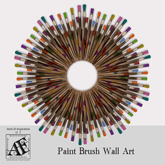AFAD_Paint Bruh Wall Art