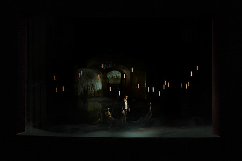 Set design: The Lake. From Why You Need to See the Phantom of the Opera