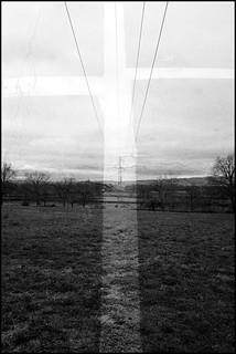 poteau et croix