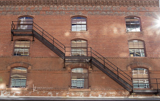 Denver fire escape