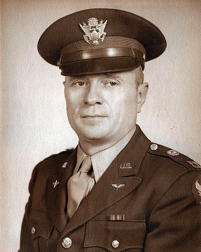 Leslie Casbon WWII official photo