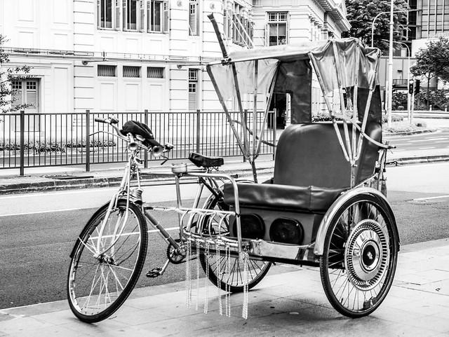Trishaw in Singapore