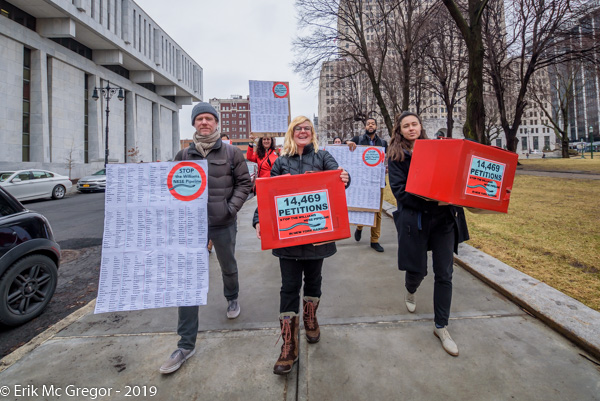 Stop Williams Pipeline Coalition delivered 14,400+ in Albany