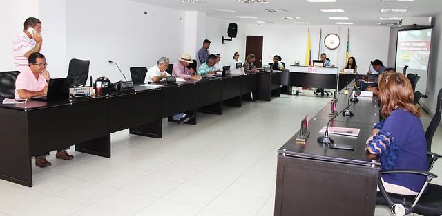 Rectora informa al Concejo de La Plata sobre la ejecución de recursos Estampilla Pro – USCO