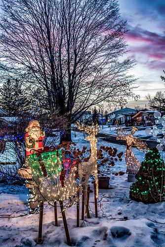 home christmas canada ontario ottawa lights
