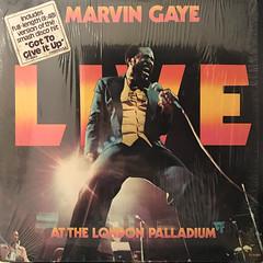 MARVIN GAYE:LIVE AT THE LONDON PALLADIUM(JACKET A)