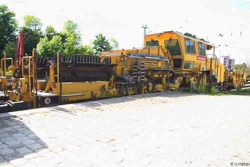 DB-Bahnbau - 97 16 34 002 17-6 Universalschotterplaniermaschine USP 2000 SWS-2 _a