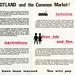 No Voice.  No Entry.  SNP  Common Market leaflet.  c.1968