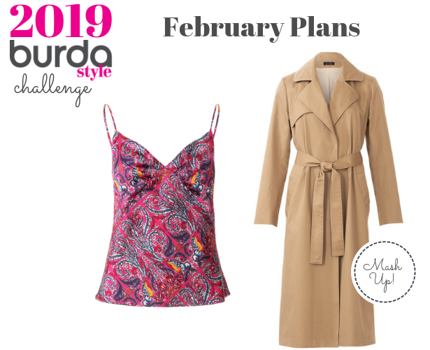 Burda Challenge Feb 2019 Meg Feb Plans
