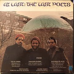 THE LAST POETS:AT LAST(JACKET B)