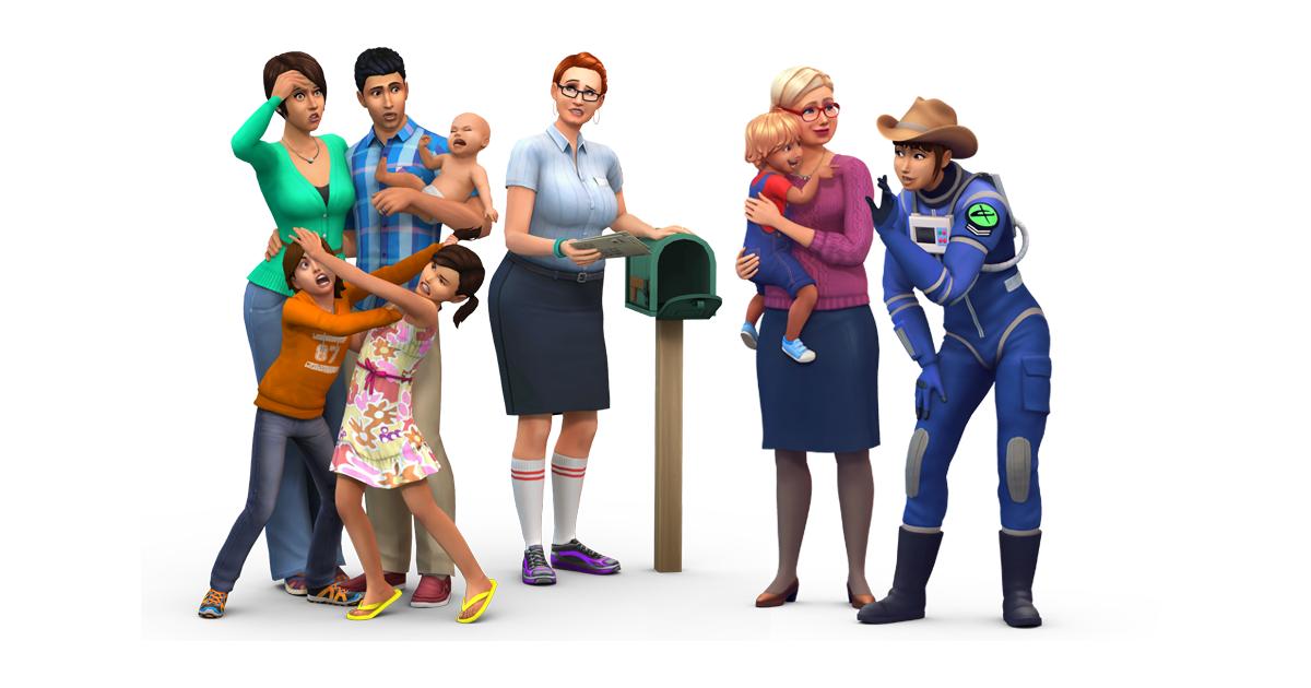 Photo of The Sims 4: Novas Renders