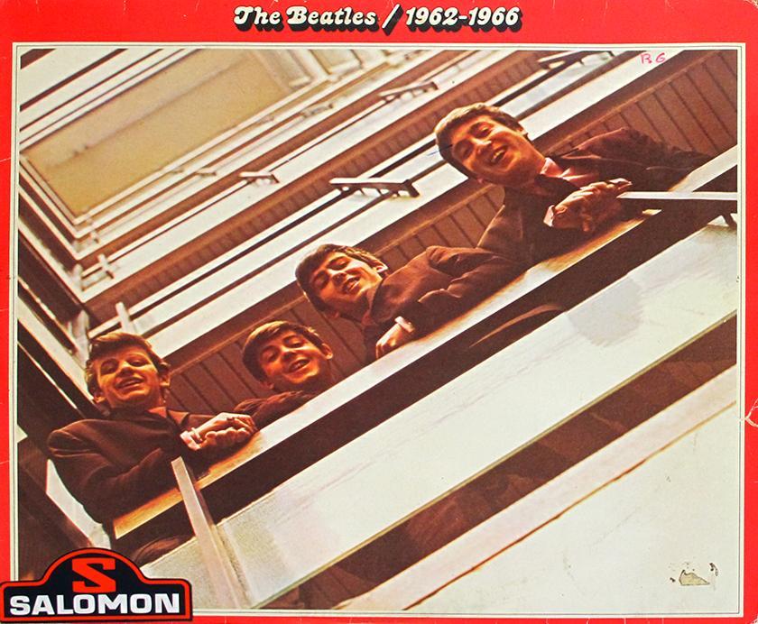 BEATLES 1962-1966 Rare RED Apple Label