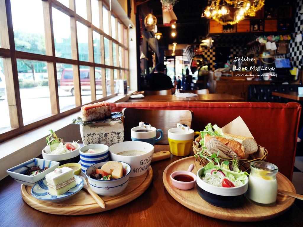 宜蘭羅東餐廳下午茶咖啡廳好吃推薦日暮和風洋食館大份量大胃王飯團早午餐法式麵包 (1)