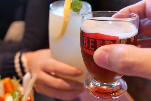 乾杯! cheers!