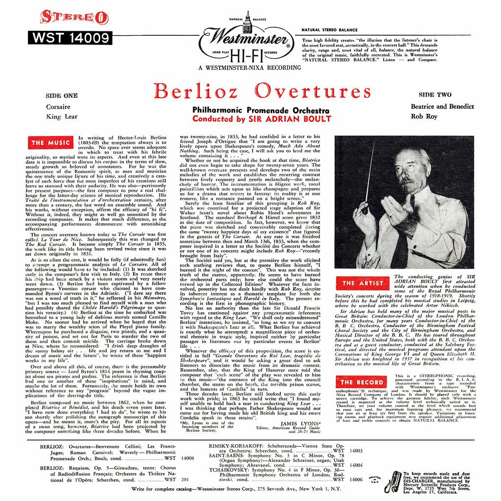 Hector Berlioz - Overtures Corsaire