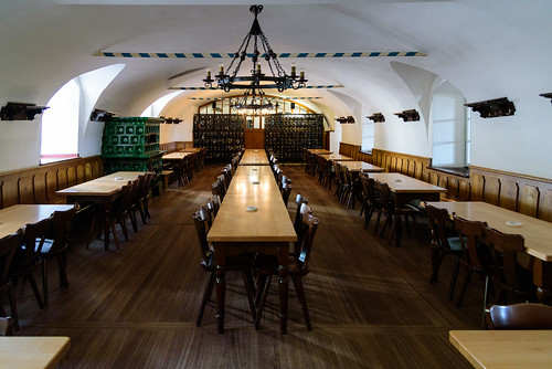 Beer Hall - You will have to picture the crowds enjoying themselves on your own