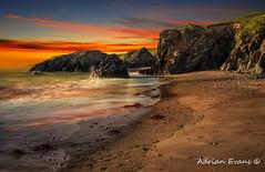 Welsh Coast Sunset