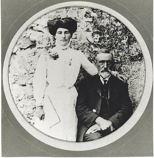 MMMcGlynn and neice Lizzie Ireland 1911`(2)