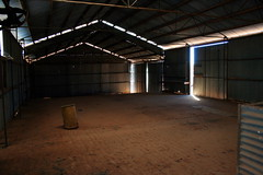 Abandoned shearers shed 2